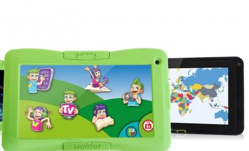 miTab YUMMY, tableta de Wolder para la infancia