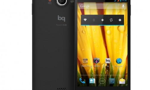 Nuevo teléfono inteligente de bq: Aquaris 5 HD