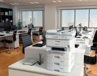 Epson sigue apostando por la inyección de tinta en la empresa
