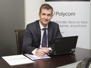 Pedro Ballesteros, director general de Polycom Iberia