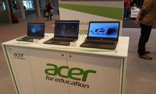 El negocio de educación de Acer crece un 50 %