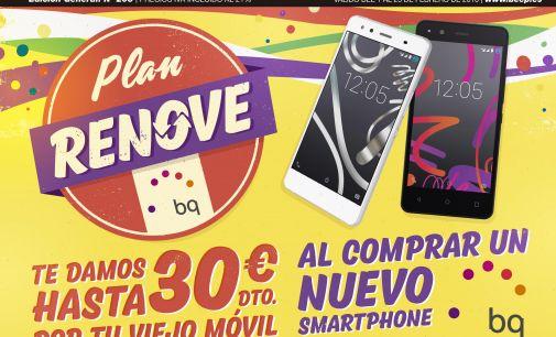 Las tiendas del grupo Ticnova lanzan un plan renove con BQ