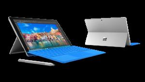 Surface Pro 4 - Principal - Con teclado