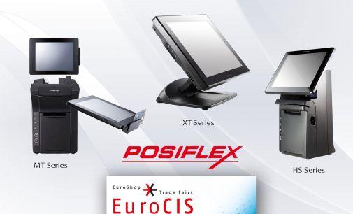 Los nuevos TPVs de Posiflex, en EuroCIS 2016