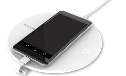 Nuevo dispositivo de Toshiba para cargar el móvil y hacer copias de seguridad