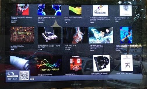 Movilok presenta su escaparate interactivo
