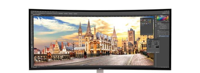 LG apuesta por el formato ultrapanorámico para sus nuevos monitores