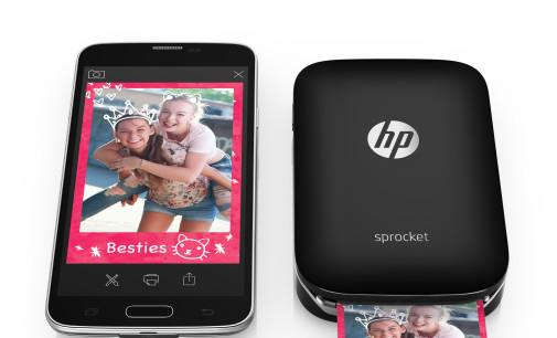 La impresión cabe en un bolsillo con HP Sprocket