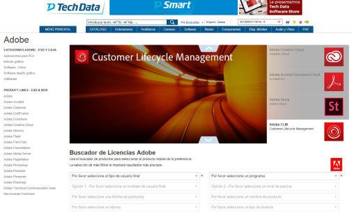 Tech Data mejora el proceso de compra del software