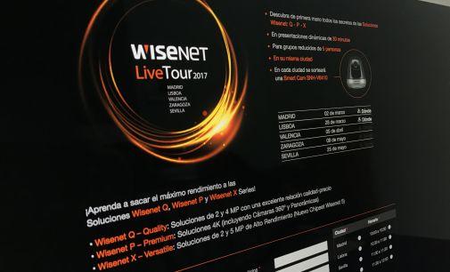 Hanwha Techwin presenta Wisenet Live Tour 2017
