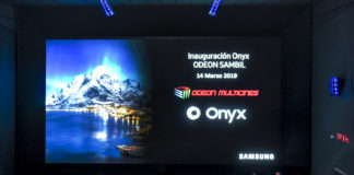 Primer Cine LED Onyx - Newsbook - Samsung - Odeon Multicines - Sambil - Madrid España