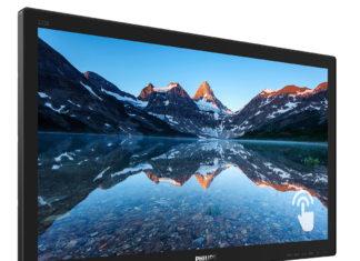 Nuevo monitor táctil de Philips - Newsbook - 222B9T - Madrid España
