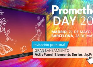 Paneles - Interactivos - Newsbook - Promethean Day - Maverick - Madrid España