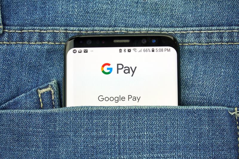 Servicio de pago - Newsbook - PCcomponentes - Google Pay