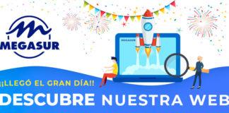 Nueva web - Newsbook - Megasur - mayorista - Madrid España