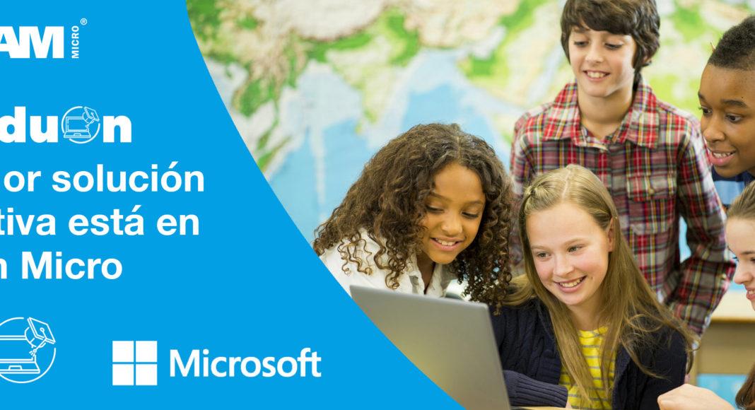 TEO - Ingram Micro - Newsbook - Educación - Microsoft- canal - Madrid España