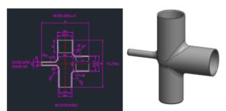 Circuito respiratorio - HP - Covid-19 - impresión 3D