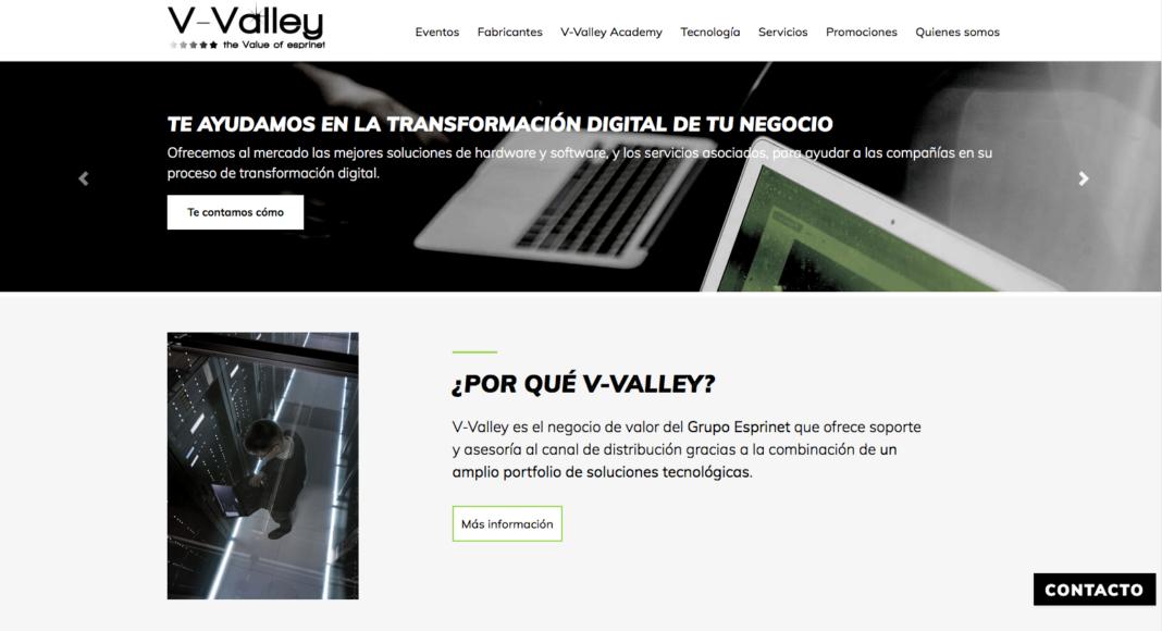 Web - V-Valley - Newsbook - Site - Tai Editorial - España
