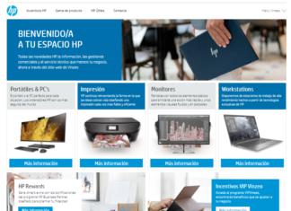 Site - HP - Vinzeo - Nesbook- Espacio Web -