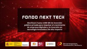 next-tech-newsbook-gobierno- financiación- Tai Editorial - España
