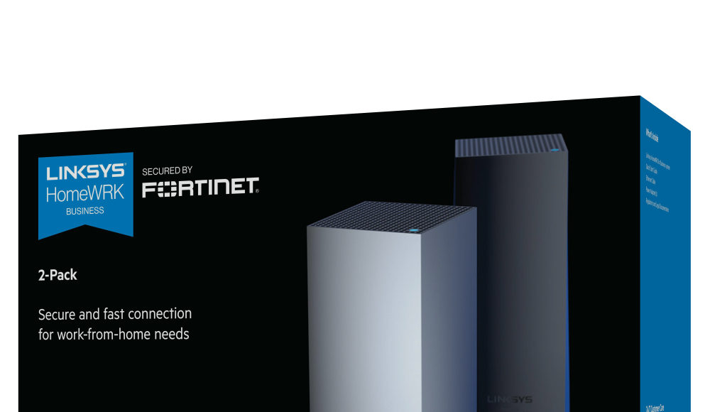Fortinet-Linksys-Newsbook-HomeWRK-for-Business-Secured-Tai Editorial-España