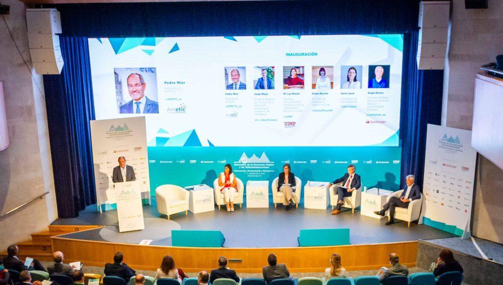 AMETIC - Newsbook- 35 Encuentro de la Economía digital y las Telecomunicaciones - Santander- Tai Editorial - España