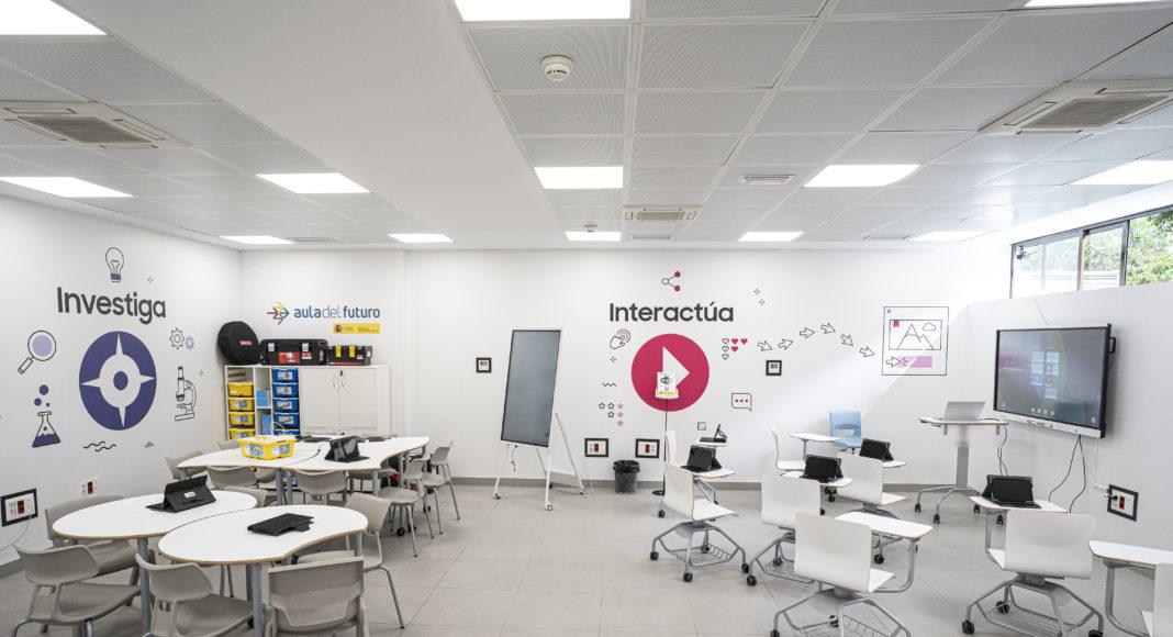 Aula del Futuro - Samsung -Newsbook - INTEF - Educación - Tai Editorial - España
